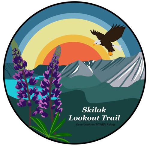 Sticker - Trail Series - Kenai National Wildlife Refuge