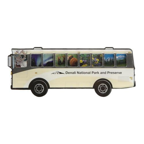 Magnet - Denali Tan Bus