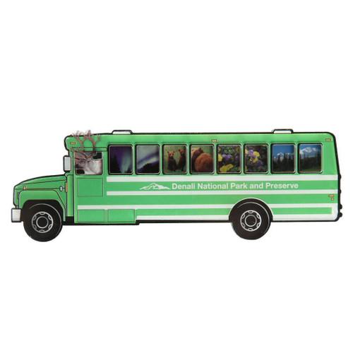 Magnet - Denali Green Bus