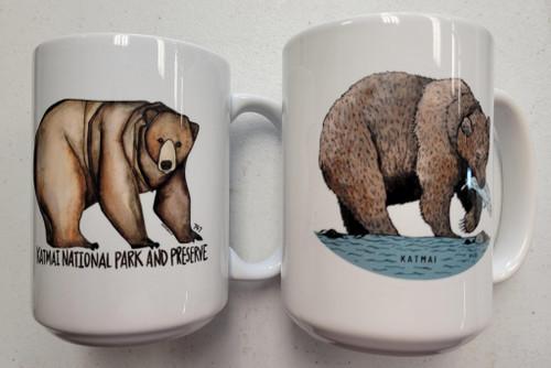 Fat Bear Coffee Mugs