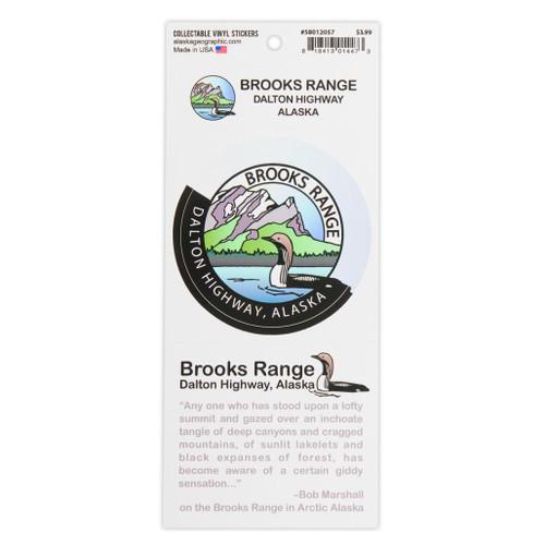 Sticker -  Brooks Range/Dalton Highway