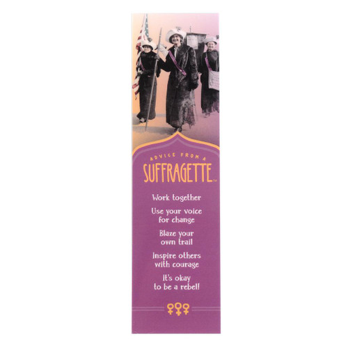 Advice from a Suffragette Bookmark