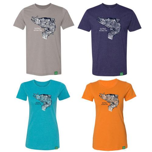 T-Shirt - Katmai - Salmon