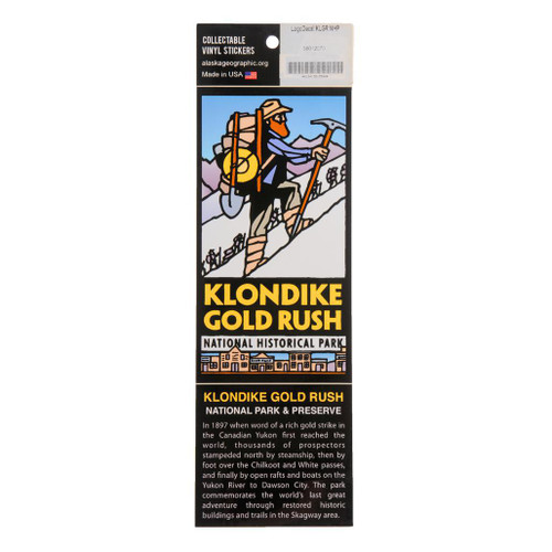 Sticker - Klondike Gold Rush National Historical Park