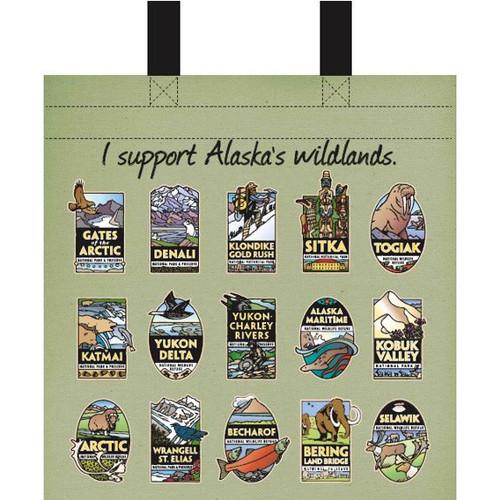 Medium Recycled Bag Alaska Wildlands