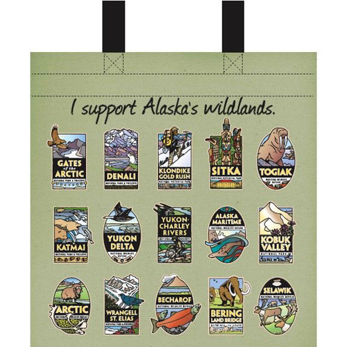 Medium Recycled Bag Alaska Wildlands