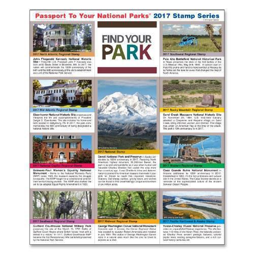 Passport NP Stamp 2017 - Featuring Denali & Yukon-Charley