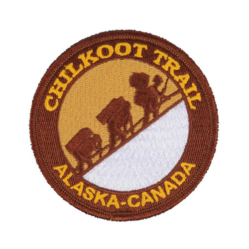Patch - Chilkoot Trail Embroidered