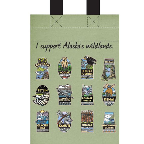 Small Recycled Bag Alaska Wildlands