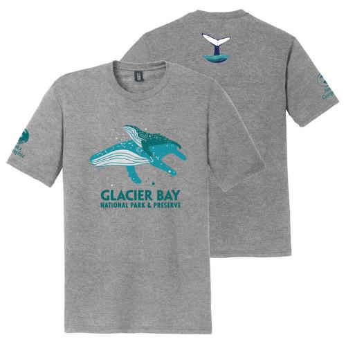 T-Shirt - Glacier Bay - Whales