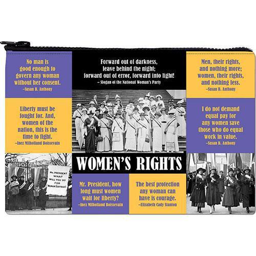 Zipper Pouch-Women's Rights