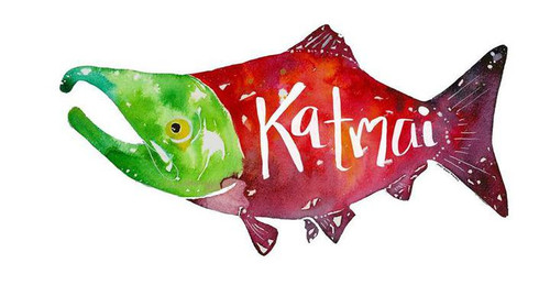 Salmon Sticker - KATMAI