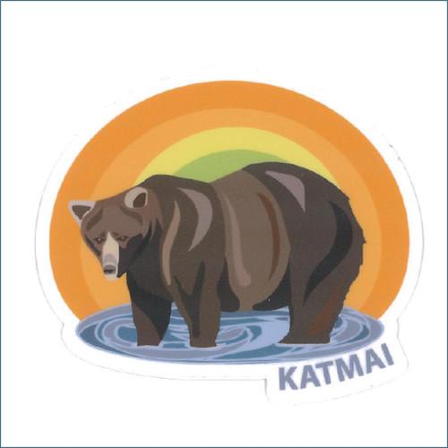 Katmai Beadnose Sticker