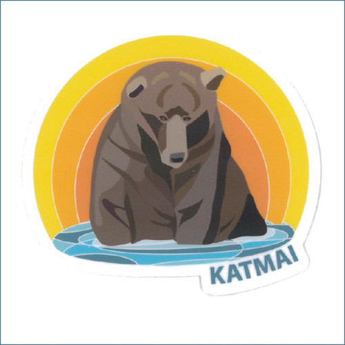 Katmai Otis Sticker
