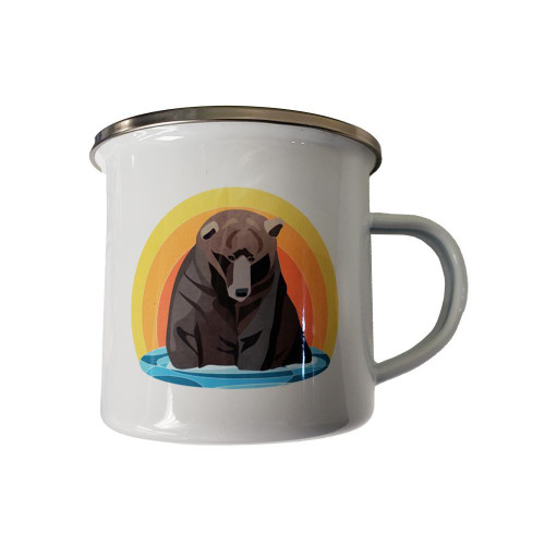 Katmai Bear Tin Mug