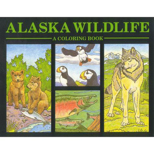 Alaska Wildlife: A Coloring Book