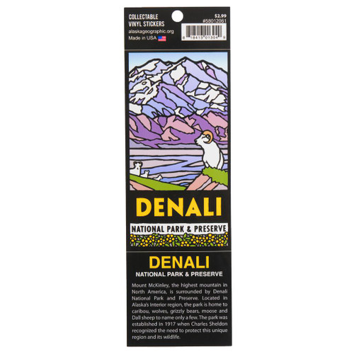 Sticker - Denali National Park & Preserve