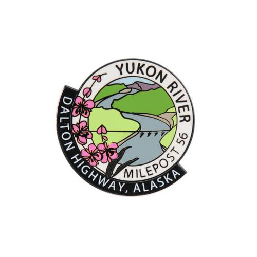 Pin - Yukon River Milepost 56 - Dalton Highway