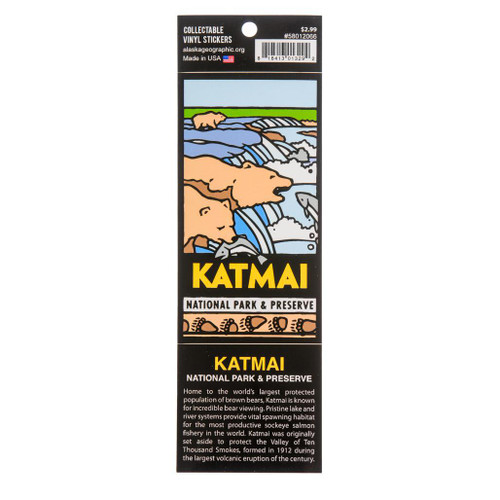 Sticker - Katmai National Park & Preserve