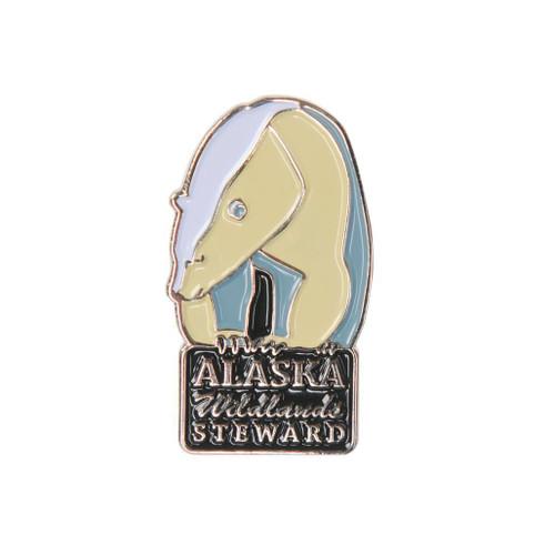 Alaska Wildlands Steward Pin