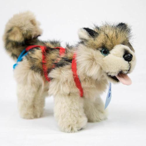 "Plush - Standing Sled Dog - 9"""