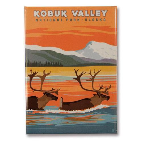 Magnet - Retro Kobuk Valley
