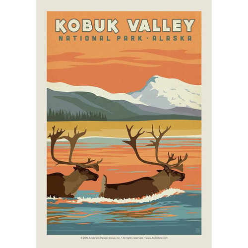 Postcard - Retro Kobuk Valley