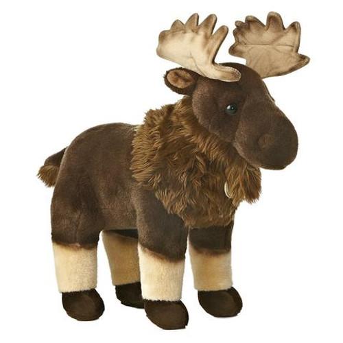 """Plush - Moose - 14"""""""