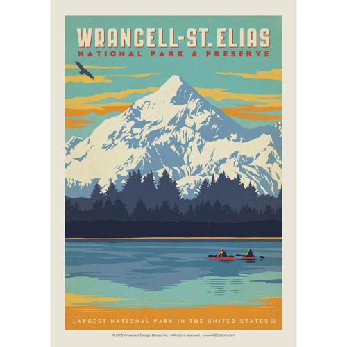 Postcard - Retro Wrangell-St. Elias