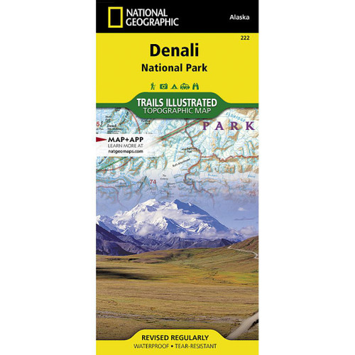 Denali NP&P National Geographic Trails Illustrated Map