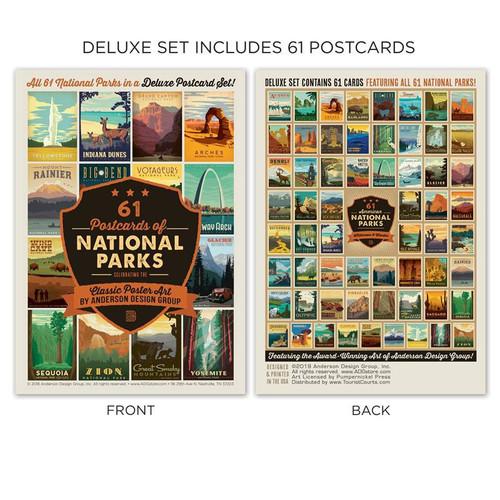 Postcard Set - 61 National Parks
