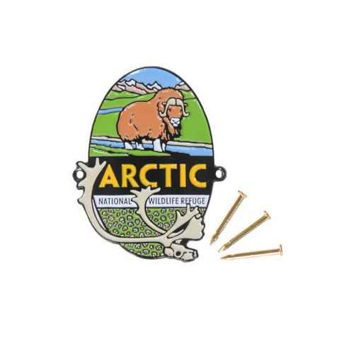 Hiking Medallion - Arctic National Wildlife Refuge