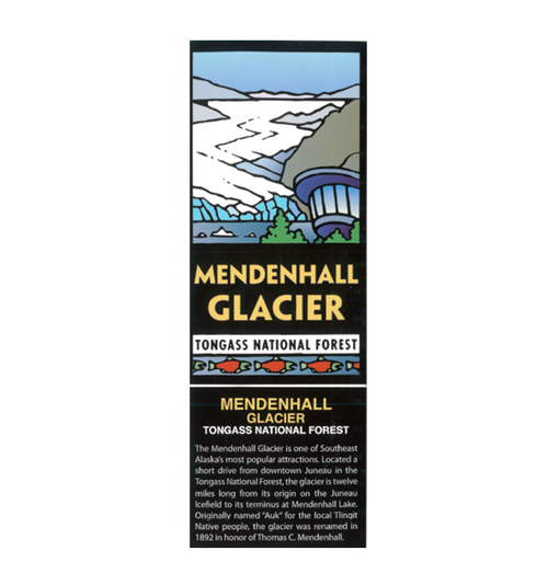 Sticker - Mendenhall Glacier Tongass National Forest
