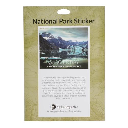 National Park Passport Sticker - Glacier Bay