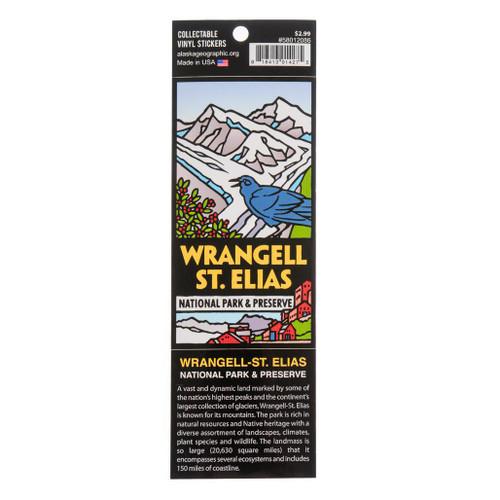 Sticker -  Wrangell-St. Elias National Park & Preserve