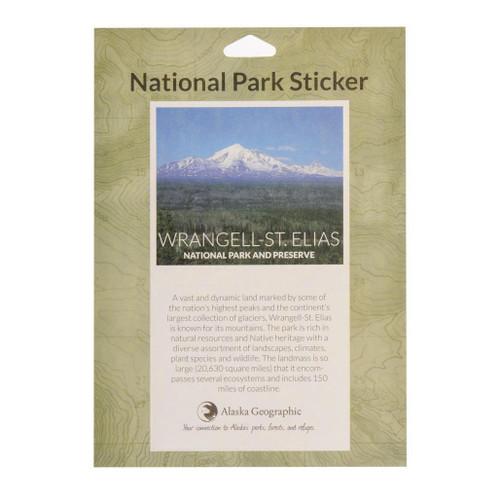 National Park Passport Sticker - Wrangell-Saint Elias