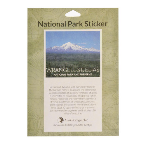 National Park Passport Sticker - Wrangell-Saint Elias