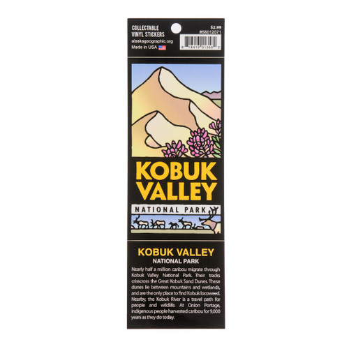 Sticker - Kobuk Valley National Park