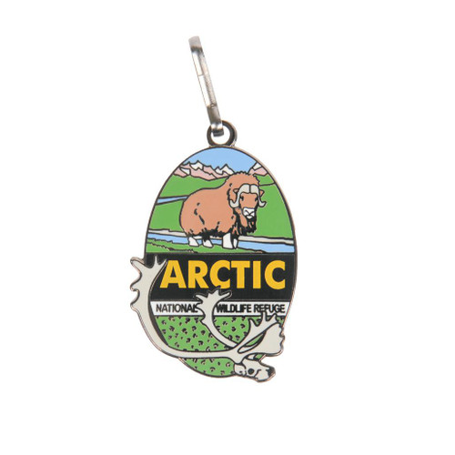 Zipper Pull - Arctic National Wildlife Refuge