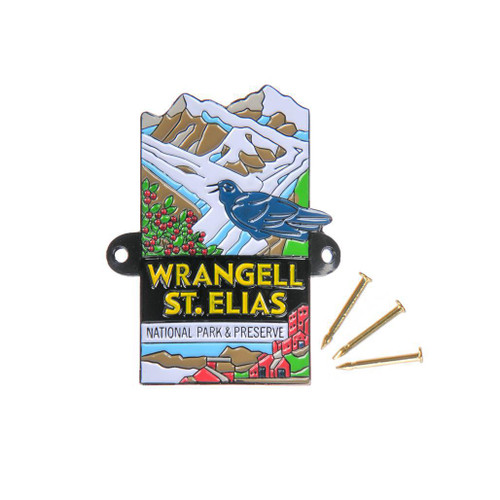 Hiking Medallion - Wrangell-Saint Elias National Park & Preserve