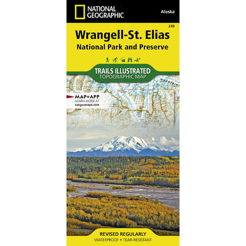 Wrangell-St. Elias NP&P National Geographic Trails Illustrated Map