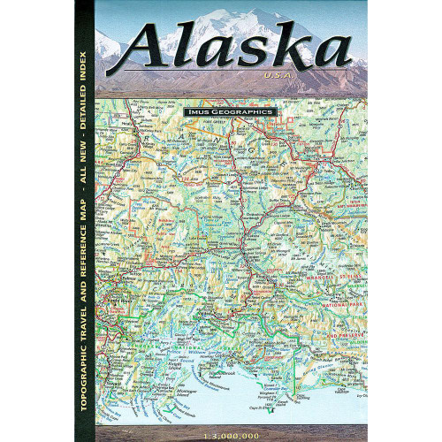 Map - Alaska Topo-Travel-Reference Map