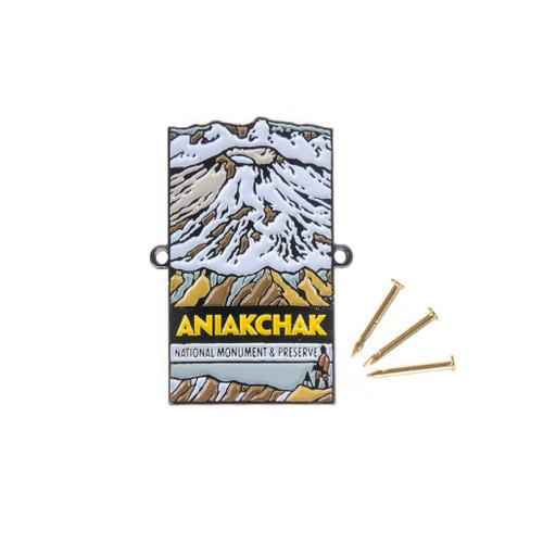 Hiking Medallion - Aniakchak National Monument & Preserve