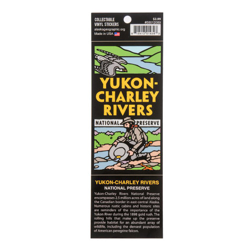 Sticker - Yukon-Charley Rivers National Preserve