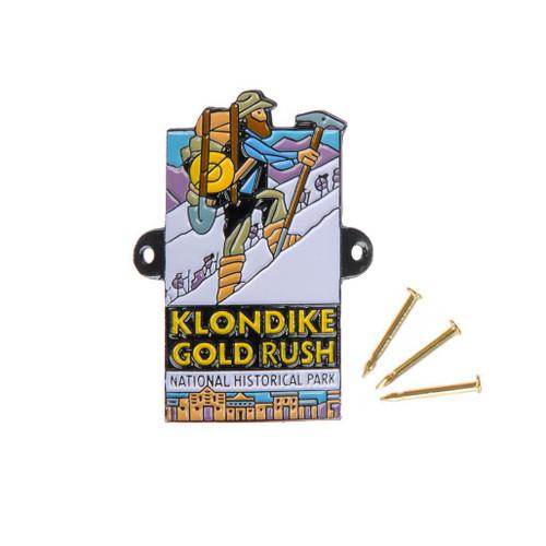 Hiking Medallion - Klondike Gold Rush National Historical Park