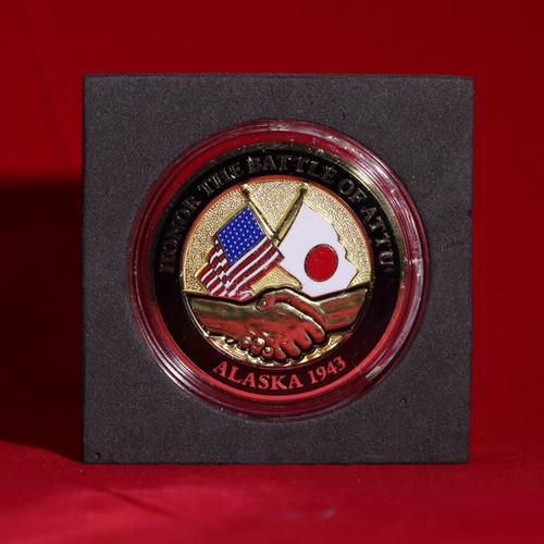 Battle of Attu 75th Anniversary Coin