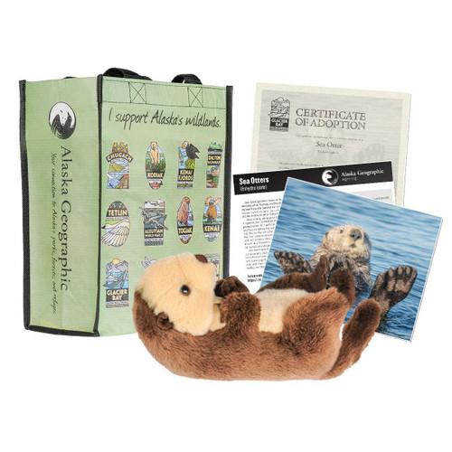Adoption Kit - Sea Otter - Glacier Bay