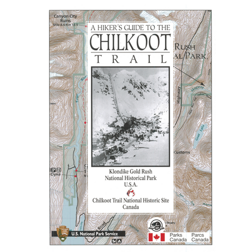 Map Hikers Guide to the Chilkoot Trail