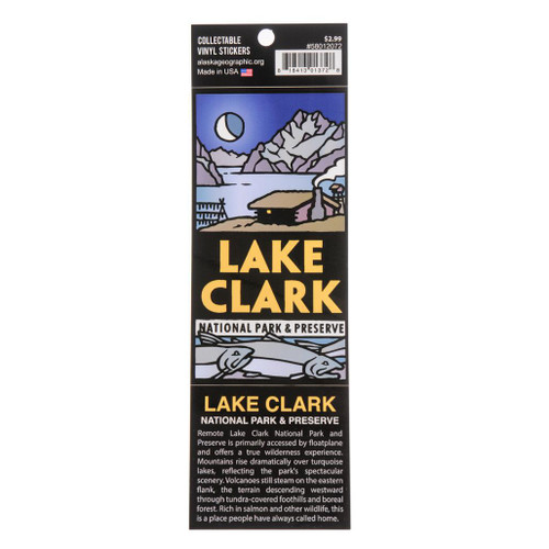 Sticker - Lake Clark National Park & Preserve