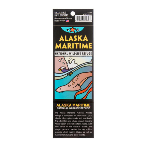 Sticker -  Alaska Maritime National Wildlife Refuge
